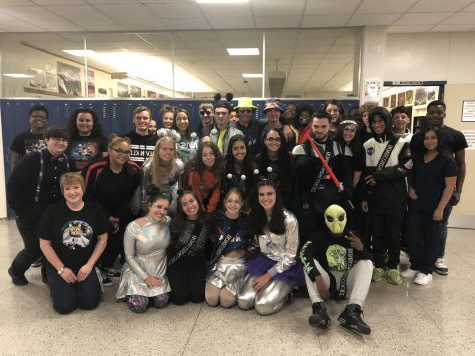 "Spirit Week day 1 ""Monday on the Moon"" 10/7/19"
